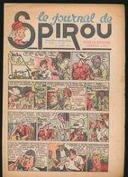 LE JOURNAL DE SPIROU N° 26  1 JUILLET 1943  GOEDE STAAT  BON ETAT - PAPIER TRES DEFICILE   2 SCANS - Spirou Magazine