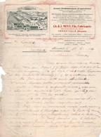 A L'ABEILLE - GRAND ETABLISSEMENT APICULTURE - RUCHES - MIEL -CIRE - ELEVAGE D'ABEILLE - Ch & J. MEES, HERENTHALS -1912. - Alimentaire