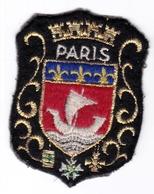 Ecusson Tissu - Paris (75) - Blason - Armoiries - Héraldique - Ecussons Tissu