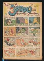 LE JOURNAL DE SPIROU N° 437  29 AOUT 1946  GOEDE STAAT  BON ETAT - PAPIER TRES DEFICILE   2 SCANS - Spirou Magazine