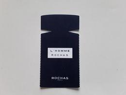 """ROCHAS    """" L'HOMME  """"   Carte Réplique  ***  Photo . - Modernes (à Partir De 1961)"""