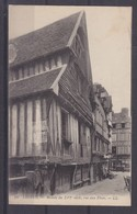 CPA Lisieux Dpt 14 Rue Aux Fèves Maison Réf 161 - Lisieux