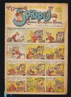 LE JOURNAL DE SPIROU N° 440  19 SEPT  1946  GOEDE STAAT  BON ETAT - PAPIER TRES DEFICILE   2 SCANS - Spirou Magazine
