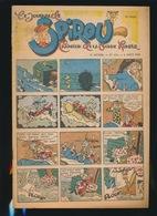 LE JOURNAL DE SPIROU N° 434  8 AOUT  1946  GOEDE STAAT  BON ETAT - PAPIER TRES DEFICILE   2 SCANS - Spirou Magazine