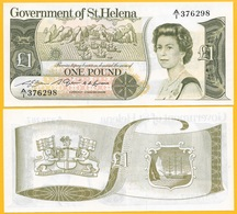 St Helena 1 Pound P-9a 1981 UNC Banknote - Isla Santa Helena