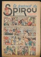 LE JOURNAL DE SPIROU N° 18     28 JUIN  1945  GOEDE STAAT  BON ETAT - PAPIER TRES DEFICILE SCHEURJES AANWEZIG  2 SCANS - Spirou Magazine