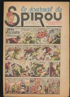 LE JOURNAL DE SPIROU N° 22  3 JUIN  1943  GOEDE STAAT  BON ETAT - PAPIER TRES DEFICILE   2 SCANS - Spirou Magazine