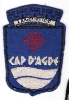 Ecusson Tissu - Cap D'Agde (34) - Blason - Armoiries - Héraldique - Stoffabzeichen