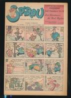 LE JOURNAL DE SPIROU N° 446  31 OCT 1946  GOEDE STAAT  BON ETAT - PAPIER TRES DEFICILE   2 SCANS - Spirou Magazine