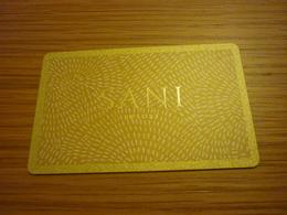 Greece Kassandra Halkidiki Sani Hotel Room Key Card (golden Edition) - Cartes D'hotel