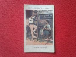 SPAIN ANTIGUO CROMO OLD COLLECTIBLE CARD CHOCOLATE AMATLLER ACTOR DE CINE ACTEUR HOLLYWOOD ATTORE RAMÓN NOVARRO VE FOTOS - Cromos