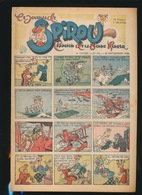 LE JOURNAL DE SPIROU N° 441  26 SEPT  1946  GOEDE STAAT  BON ETAT - PAPIER TRES DEFICILE   2 SCANS - Spirou Magazine