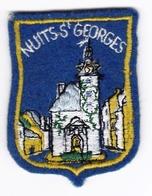 Ecusson Tissu - Nuits-Saint-Georges (21) - Blason - Armoiries - Héraldique - Ecussons Tissu