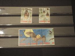 TONGA - 1992 PIPISTRELLI 5 Valori -NUOVI(++) - Tonga (1970-...)