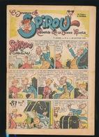 LE JOURNAL DE SPIROU N° 4  25 JAN   1945  GOEDE STAAT  BON ETAT - PAPIER TRES DEFICILE   2 SCANS - Spirou Magazine