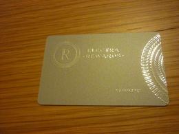 Greece Athens Electra Hotel Room Key Card (silver Edition) - Cartes D'hotel