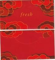 Nouvel An Chinois  2020**L'année Du  RAT **  Red Pocket  **  FRESH **  R/V - Perfume Cards