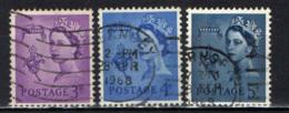 GUERNSEY - 1958 - EFFIGIE DELLA REGINA ELISABETTA II - USATI - Guernesey