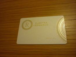 Greece Athens Electra Hotel Room Key Card (white Edition) - Cartes D'hotel