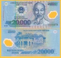 Vietnam 20000 (20,000) Dong P-120 2019 UNC Banknote - Vietnam