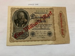 Germany 1 Milliard Marks Banknote 1922 - [ 3] 1918-1933: Weimarrepubliek