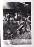 PHOTO ORIGINALE 39 / 45 WW2 MARINE FRANCAISE 1942 TOULON ET ENVIRONS LES MARINS FRANCAIS EN CAMPING - Guerre, Militaire
