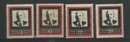 Urss - Série Yvert N° 270 à 273 , 4 Valeurs * , Trace De Charnière  -  Abc30701 - 1923-1991 USSR