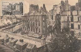 Carte Maximum -  Saint-Malo - 1er Jour  1945 - Frankrijk