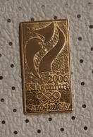PIN'S   PIN AUSTRIA KLAGENFURT 2006 CANDIDATE CITY Logo Pin Badge Winter Olympic Games - Pins