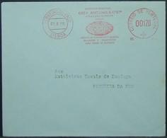 Portugal - Advertising Printed Matter Meter Franking Cover 1960 Orey Antunes Tourism - 1910-... Republic