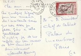 TP N° 1301 Seul Sur CP. (TTB) - Poststempel (Briefe)