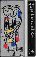 Switzerland: PTT KP-93/163C 310L Keller Fahnen - Sternzeichen Zwillinge, H. Knecht - Svizzera