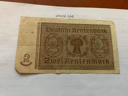 Germany 2  Marks Banknote 1937 - [ 3] 1918-1933: Weimarrepubliek