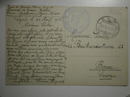 Suisse. Leysin, Mer De Nuages. Cachet Prisonniers De Guerre, Leysin (8426) - VD Vaud