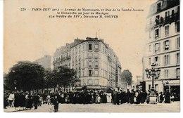 PARIS (XIV ème Arrt) Avenue De Montsouris Et Rue De La Tombe-Issoire Le Dimanche Un Jour De Musique (la Médéa Du 14°) - Arrondissement: 14