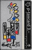Switzerland: PTT KP-93/163F 310L Keller Fahnen - Sternzeichen Jungfrau, H. Knecht - Svizzera