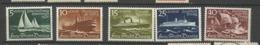 Danzig  1938 Mi.Nr.: 284-88 Winter Aid Ships Mint Hinged X - Danzig