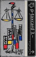 Switzerland: PTT KP-93/163G 310L Keller Fahnen - Sternzeichen Waage, H. Knecht - Svizzera