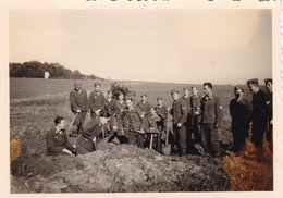 PHOTO ORIGINALE 39 / 45 WW2 WEHRMACHT FRANCE SEDAN 1943 LES SOLDATS ALLEMANDS AU TRAVAIL - Guerra, Militares