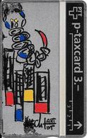Switzerland: PTT KP-93/163H 310L Keller Fahnen - Sternzeichen Skorpion, H. Knecht - Svizzera