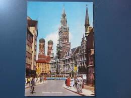 Carte Postale Allemagne Munich Marienplatz - Deutschland