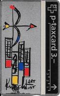 Switzerland: PTT KP-93/163J 310L Keller Fahnen - Sternzeichen Schütze, H. Knecht - Svizzera
