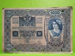 Austrie, Tausend Kronen 1902 - Austria