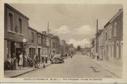 CPSM Chapelle Rousselin, Rue Principale - France
