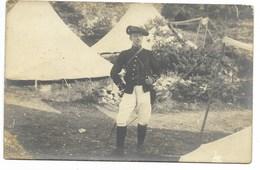 CARTE PHOTO-Militaire Du 24e Régiment De Chasseur Alpin... - Régiments