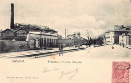 Savona (SV) - Terrazzo E Corso Mazzini - Savona