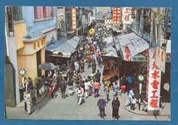 HONG KONG A BUSY OPEN MARKET IN SPRING GARDEN STREET WANCHAI 1963 CINA CHINA - Cina (Hong Kong)
