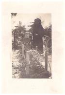 """""""LA TOMBE DE MON CHER FELIX BLESSE AU FORT DE POMPELLE MORT LE 7 MAI 1916"""" - Guerre, Militaire"""