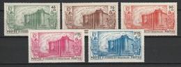 SAINT PIERRE ET MIQUELON 1939 YT N° 191 à 195 ** - Unused Stamps