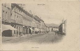 X120549 VOSGES SAINT DIE RUE THIERS PRECURSEUR AVANT 1904 - Saint Die